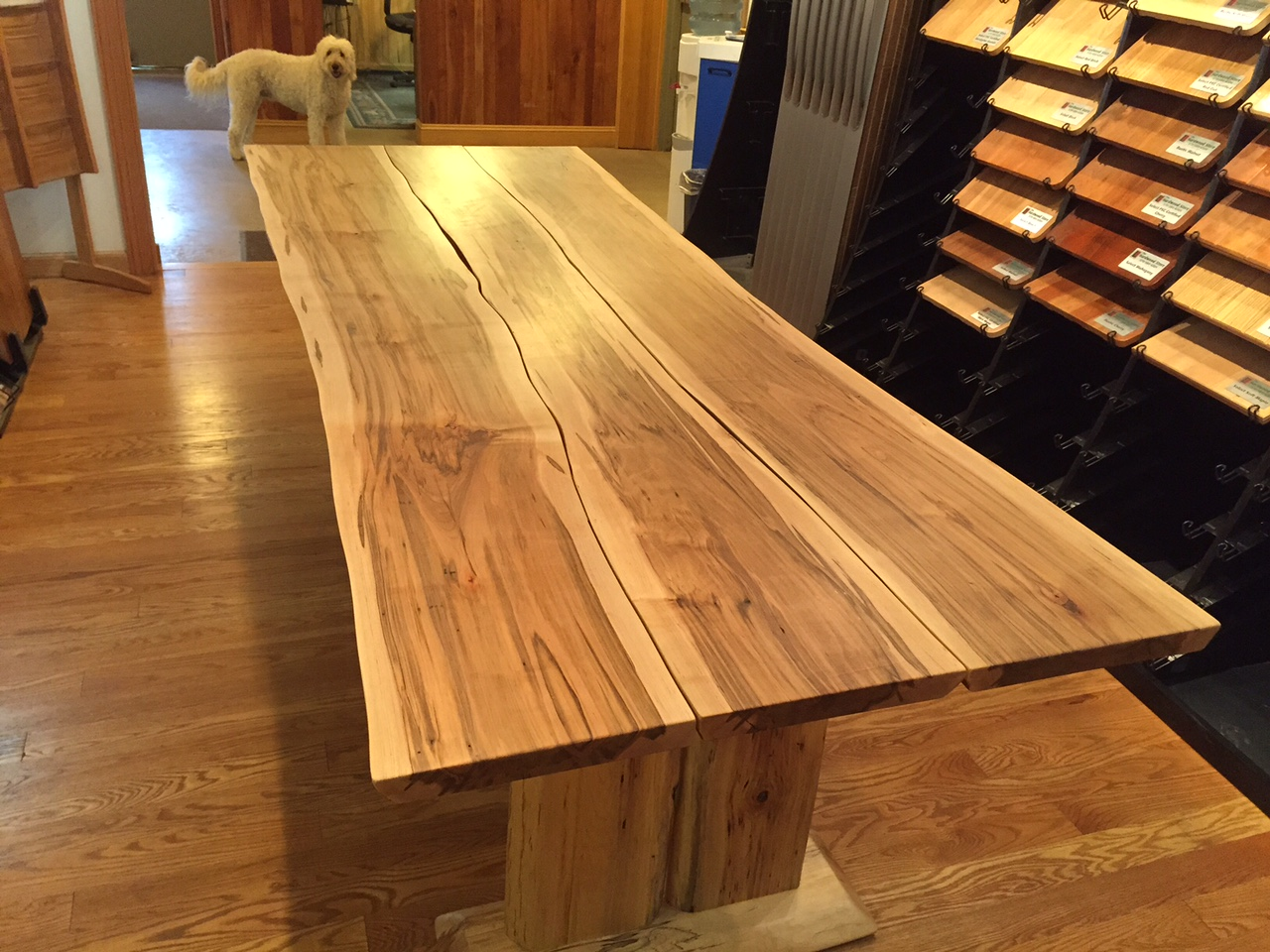 Maple Wood Furniture ~ Wormy maple or ambrosia lewis lumber products